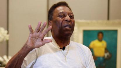 Pelotas y letras | La cara de Pelé