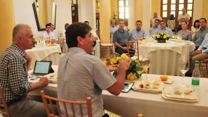 Presidente de la Andi se reúne con empresarios barranquilleros