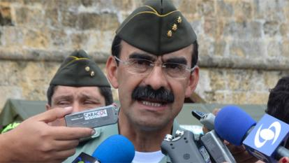 General Rodolfo Palomino, director de la Policía.