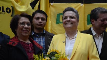 """""""Las mujeres vamos a reconstruir este país"""": Clara López y Aída Avella"""