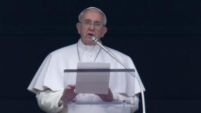 Papa pide proteger el agua, hacerla accesible a todos