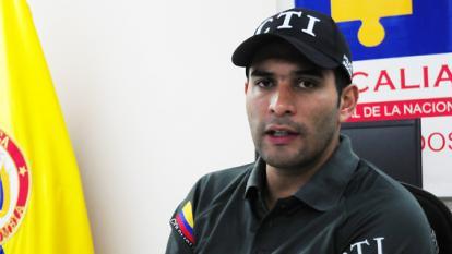 El director del CTI, Danny Julián Quintana, en diálogo ayer con EL HERALDO.