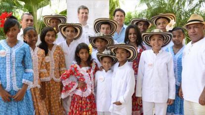 420 niños se benefician en semillero de formación vallenata