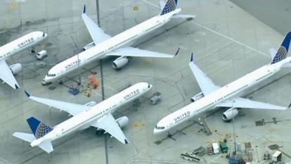 Suspenden todos los vuelos de United Airlines en EE.UU. por fallo informático