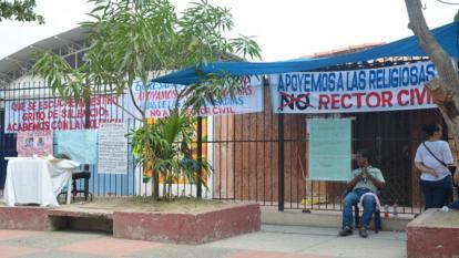 Cuatro días sin clase en Las Misericordias por protesta