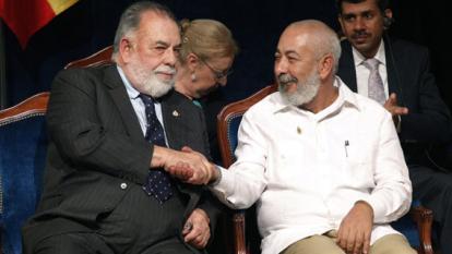 Leonardo Padura y Francis Ford Coppola reciben el Premio Princesa de Asturias