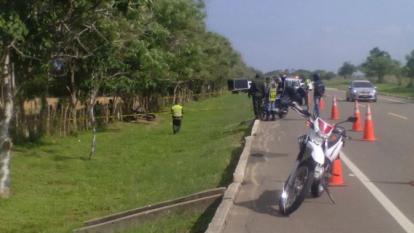 Muere patrullero de la policía en accidente en la Vía al Mar