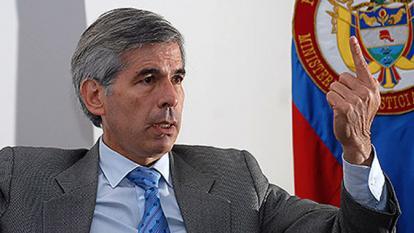 El ministro de Justicia, Yesid Reyes.