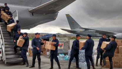 Colombia envía más ayuda para damnificados por terremoto en Ecuador