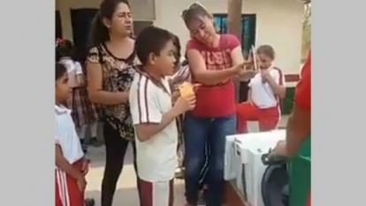 Suspenden programa de alimentación escolar por falta de recursos en Cesar