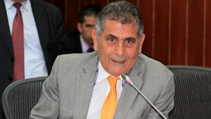 Miguel Amín, presidente Comision Cuarta del Senado.