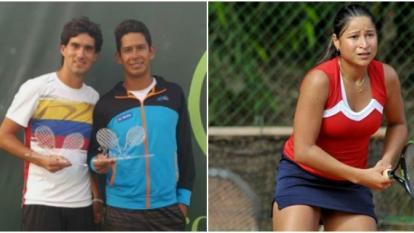 Dos tenistas locales buscan brillar en las canchas del mundo