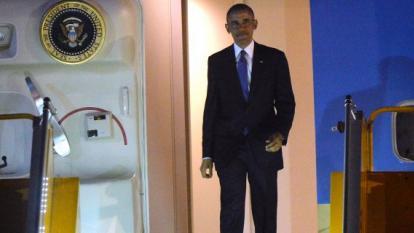 Obama llega a Japón para la cumbre del G7 y visita a Hiroshima