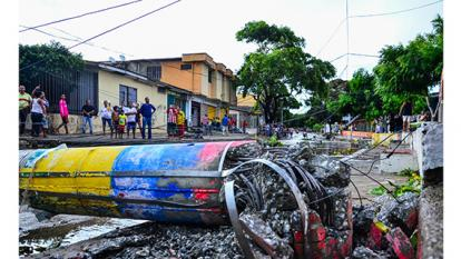 """Inestabilidad atmosférica  fue causal de vendaval"": Ideam"