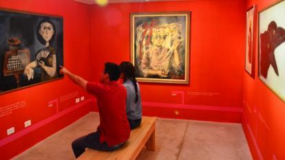 Con obras de Grau se inaugura sala de artistas del Mamb