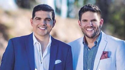 Peter Manjarrés y Juancho De la Espriella oficializan hoy su unión en Barranquilla