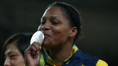 """Yuri Alvear: """"Me voy contenta con la medalla de plata"""""""