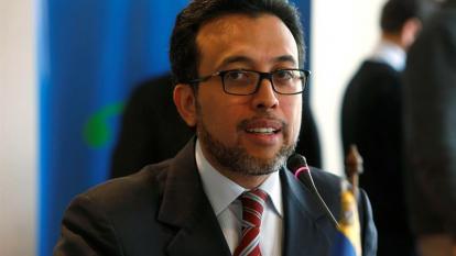 El coordinador nacional de Venezuela ante el Mercosur, Héctor Constant.