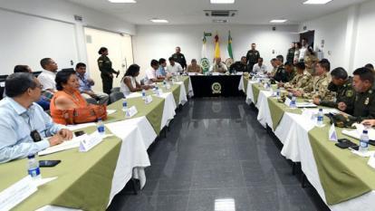 Al Consejo de Seguridad asistieron las autoridades militares, de Policía, y administrativas de la ciudad y del departamento. El tema central fue el hurto callejero.