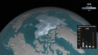 En video: Así ha disminuido el hielo del Océano Ártico en los últimos 30 años