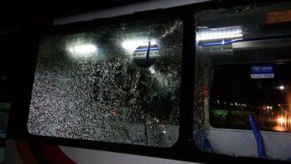 Operador de Transmetro resulta herido luego del partido de Junior