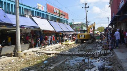 Suspenden obras de peatonalización del Centro en Navidad