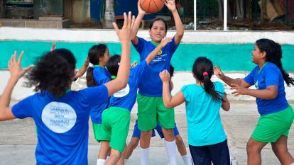Soledad le apunta a las escuelas de formación deportiva
