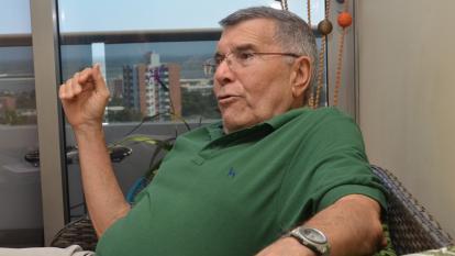 Martín Mestre Yúnez, padre de Nancy, asesinada por Jaime Saade, recordó en su casa detalles del crimen.