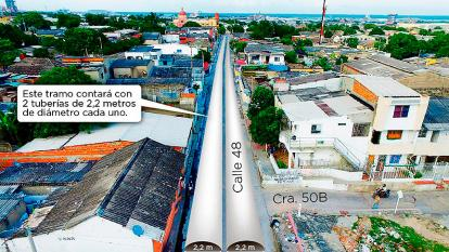 Desde hoy, cierres viales por obras en la carrera 21 y el Barrio Abajo