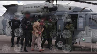 """El Chapo"""" Guzmán llega a EE.UU. extraditado desde México"""