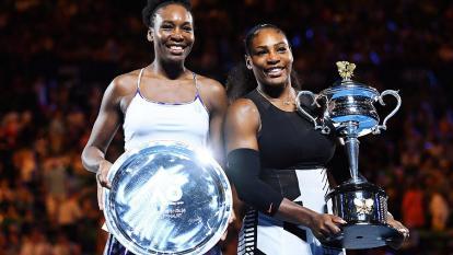 Serena Williams, la nueva campeona del Abierto de Australia