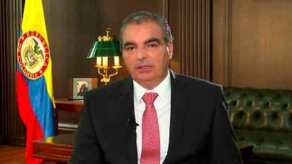 El ministro de Agricultura, Aurelio Iragorri.