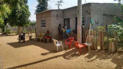 En esta vivienda del barrio Villa Yolima fueron asesinados los dos hermanos.