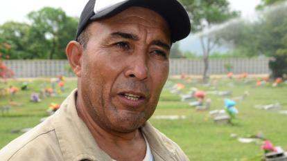 Pedro Piña, el sepulturero de los famosos del vallenato