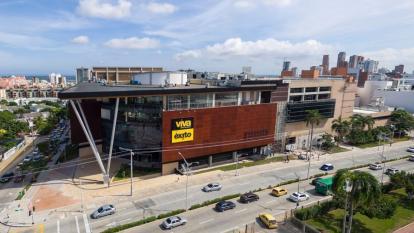 Centro comercial Viva, donde murió Ferreira.