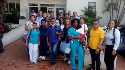 Trabajadores de Cafesalud cuestionan traslados de Cartagena a Barranquilla