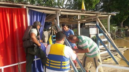 Prohíben la navegabilidad en el río Sinú por aumento considerable en su nivel