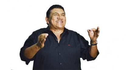El cantante vallenato Poncho Zuleta.