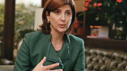 María Á. Holguín, ministra de Relaciones Exteriores.