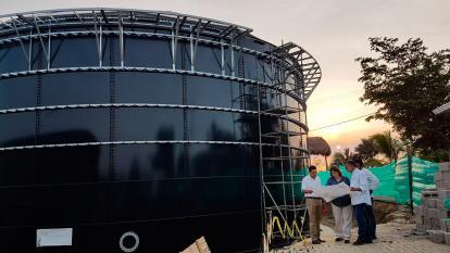 Zona costera tendrá megatanque con capacidad para 3.000 m3