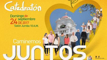 Afiche oficial de Catedratón 2017.
