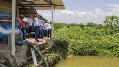 Inician proyecto de modelo agrícola para el Atlántico