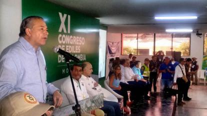 """""""Que nos paguen"""": piden ediles del país al vicepresidente Naranjo, en Montería"""