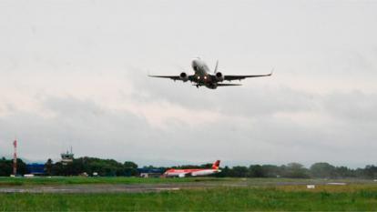 Con vuelo a Panamá  se internacionaliza aeropuerto los Garzones de Montería