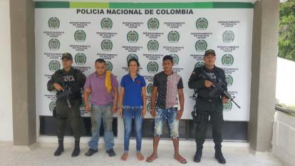 Capturan a dos venezolanos por extorsión en Valledupar