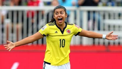 Yoreli Rincón, la mujer futbolista