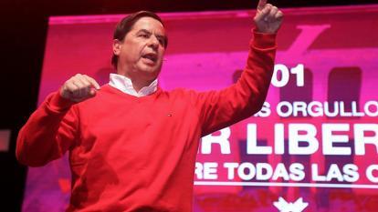 Cristo arranca su campaña por el Caribe colombiano
