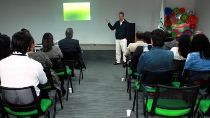 Martín Aluja, funcionario del Instituto de Ecología, Inecol, en México.