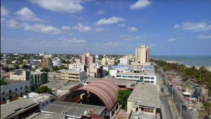 Panorámica de la ciudad de Riohacha.