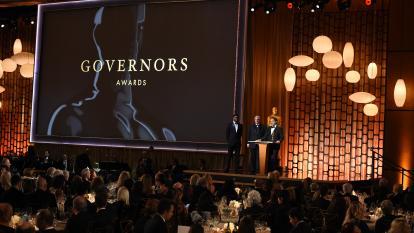 Gala de entrega de los Governors Awards.
